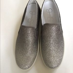 JESSICA SIMPSON GLITTER SHOES 7.5